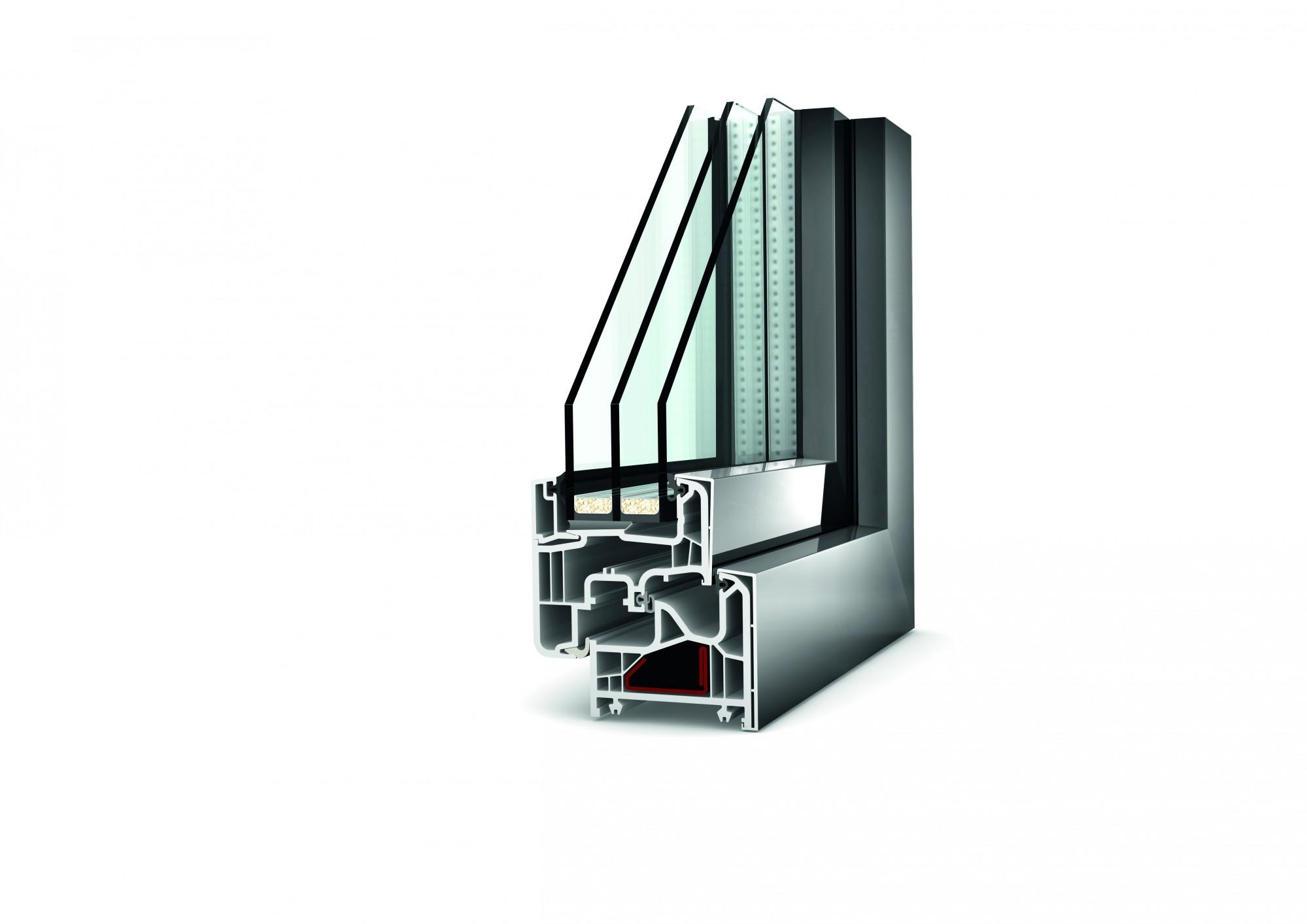 Fenêtre Mixte Pvcaluminium Gamme Premium Afp 13