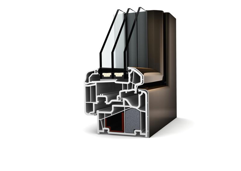 Fenêtre Mixte Pvcaluminium à Triple Vitrage Afp 13